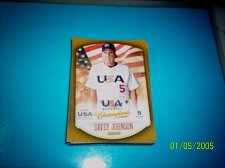 Buy DAVEY JOHNSON #40 2013 Panini USA Champions Gold Boarder Card FREE SHIP