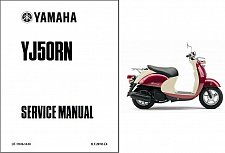 Buy 2001-2005 Yamaha Vino 50 / YJ50 Scooter Service Manual on a CD -- YJ50RN