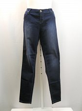 Buy Womens Jeans SIZE 16 Acid Wash Embroidered Back Pockets Skinny Legs