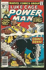 Buy LUKE CAGE POWER MAN #45 Marvel Comics 1977 VF-/NM- range STARLIN COVER Wolfman