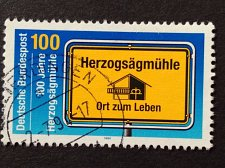 Buy Germany 1 v used stamp 1994 Michel 1740 Centenary of Herzogsagmuhle