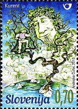 Buy Slovenia 1v mnh Stamp2010 Slovene Mythology - Kurent deity
