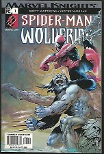 Buy Spider-man WOLVERINE #1 Marvel Knights Comic Book 2003