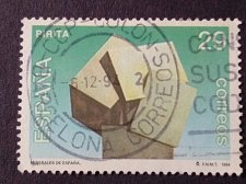 Buy Spain 1994 1v used Stamp Mi3146 Minerals - Pyrites