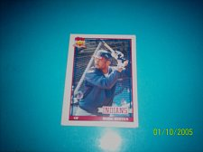 Buy 1991 Topps Traded card of mark whiten indians #126T mint