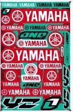Buy New Yamaha Motorcycle Racing Bike Vinyl Decals/Stickers Green Red