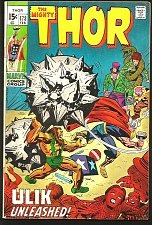 Buy THOR #173 --1st print & series JACK KIRBY Marvel Comics 1970 Silver Age STAN LEE