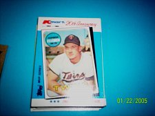 Buy HARMON KILLEBREW TWINS 1982 TOPPS KMART 20TH ANNIVERSARY #15 OF 44