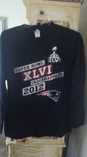 Buy New England Patriots LS T-Shirt Size LG Used (400)