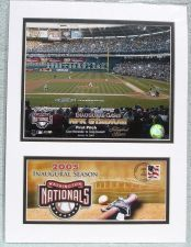 Buy US Postal Art MLB NEW Washington Nationals First Pitch 2005