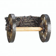 Buy *17549U - Wagon Wheel Toilet Paper Roll Holder Wall Mount
