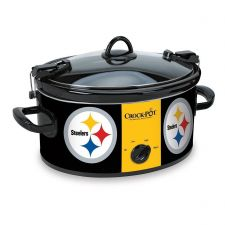 Buy Pittsburgh Steelers NFL Crock Pot Cook And Carry Slow Cooker 6 Quart
