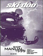 Buy 1999 Ski-Doo Tundra, Touring, Formula, Scandic Snowmobiles Service Manual on CD