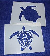 Buy 2 Piece Set -Mylar 14 Mil Turtles LG Stencils Painting/Crafts/Stencil/Template