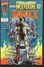 Buy WOLVERINE: Marvel Comics Presents #72 WEAPON X Logan 1991 Barry Windsor Smith