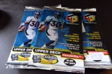 Buy 3 packs football new - 1999 UPPERDECK HOLOGRFX holografics autographs rookie NFL