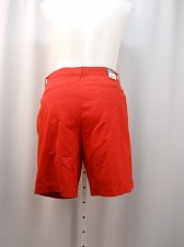 Buy SIZE 16 Womens Tennis Shorts AMERICAN LIVING Solid Red Button Zipper Closure