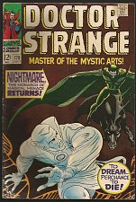 Buy DR STRANGE #170 Marvel Comics FINE Roy Thomas Dan Atkins 1968 all 1st prints