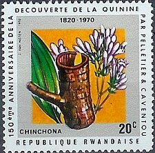 Buy Rwanda 1970 Stamp mnh medical theme Discovery Of Quinine