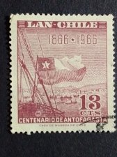 Buy Chile 1966 1v used stamp Centenario de Antofagasta