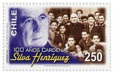 Buy Chile 1v mnh stamp Mi2180 Cardinal Siva Henríquez 100 Years Thematic