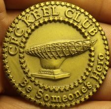 Buy Massive 45mm C.F.C Keel Club South Hampton Roads Medallion~Free Shipping