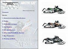 Buy 2009 Arctic Cat All 2 and 4 Stroke Model Snowmobiles Service Repair Manual CD