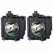 Buy PANASONIC ET-LAD310A ETLAD310A 2 FACTORY ORIGINAL BULBS IN HOUSING FOR PT-DW8300