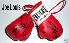Buy Autographed Mini Boxing Gloves Joe Louis