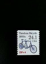 Buy 1988 24.1c Tandem Bicycle, Coil Scott 2266 Mint F/VF NH