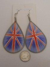 Buy Unisex Fashion Drop Dangle Earrings Dream Catchers British Flag FASHION JEWELRY