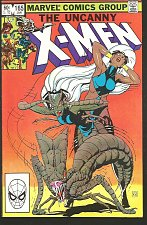 Buy X-men #165 High Grade Marvel Comics Paul Smith art 1983 Claremont Brood