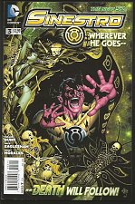 Buy SINESTRO #3 DC Comics 2014 Issued at $2.99 High Grade