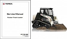 Buy Terex PT-70 / PT-80 Skid Steer Loader Service Manual on a CD