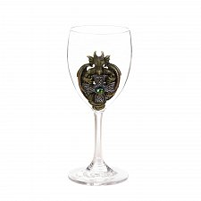 Buy *17307U - Green Dragon Emblem Glass Goblet
