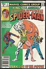 Buy Peter Parker Spectacular Spider-man Annual #3 Marvel Comics MAN WOLF 1981