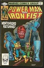 Buy Power Man and Iron Fist #80 Marvel Comics 1982 FINE Duffy/Gammill