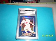 Buy manny ramirez 1997 EX 2000 #17 indians GRADED MINT 10 GRADED BY GMA