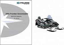 Buy 2005 Polaris Frontier Touring Snowmobile Service Repair Manual CD