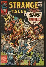 Buy Strange Tales #142 Doctor Strange Ditko, Shield Jack Kirby 1966 MARVEL VG+S. Lee