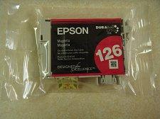 Buy Epson 126 T1263 red magenta ink = printer WorkForce 545 630 633 635 645 840 845