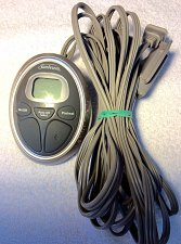 Buy SUNBEAM PAC 0521 Power Cord P85A REMOTE CONTROL Electric Blanket Style 3PRONG