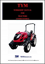 Buy TYM T303HST - T353HST / T303 - T353 Tractor Service Manual on a CD