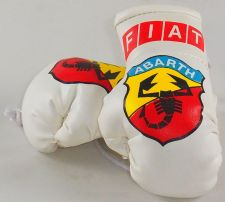 Buy Fiat Abarth Mini Boxing Gloves (ideal for your rear view mirror)