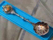 Buy ALOHA HAWAII Stuart Souvenir Silverplated Tourist Spoon