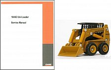 Buy Case 1845C Skid Steer Loader Service, Parts & Operation Manual on a CD - 1845 C