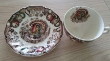 Buy Johnson Brothers His Majesty Turkey Pattern Cup and Saucer - New (408)