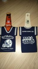 Buy (2) Indianapolis Colts 2007 Super Bowl Champs Bottle Jersey Koozies NEW (405)