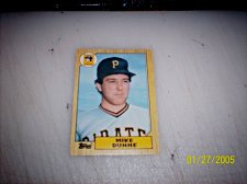 Buy 1987 Topps Traded Baseball ROOKIE MIKE DUNNE PIRATES #T30 FREE SHIPPING
