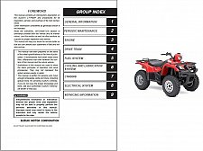 Buy 2002-2007 Suzuki LT-F500F Vinson 500 4x4 Service Repair Manual CD